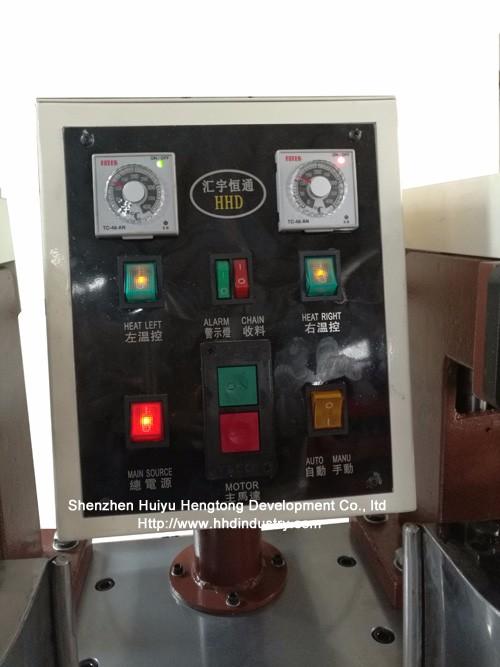 Popular Design for Dyeing Machine For Sample - High Speed Nylon Zipper Teeth Coiling Machine – HuiyuHengtong