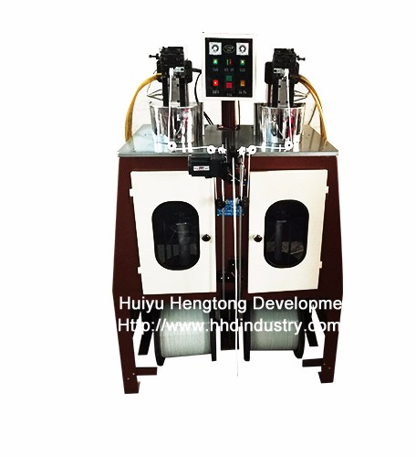 Super Speed Nylon Zipper Teeth Spiraling Machine