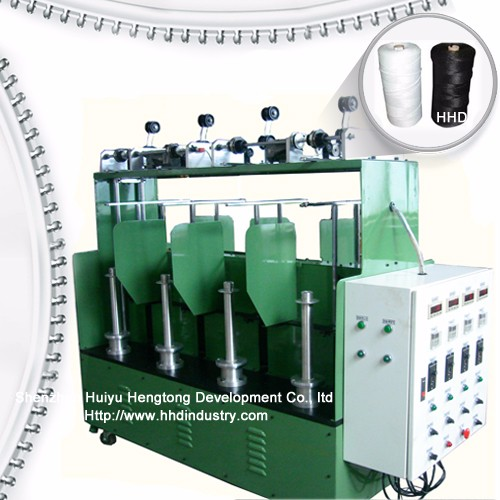 High Speed Nylon Zipper Core Line Making Machine