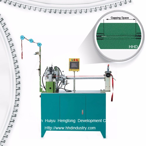 Wholesale Discount Polyester Zipper Spiraling Machine -