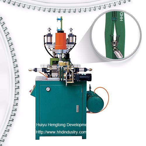 Auto Nylon U Type Top Stop Zipper Machine
