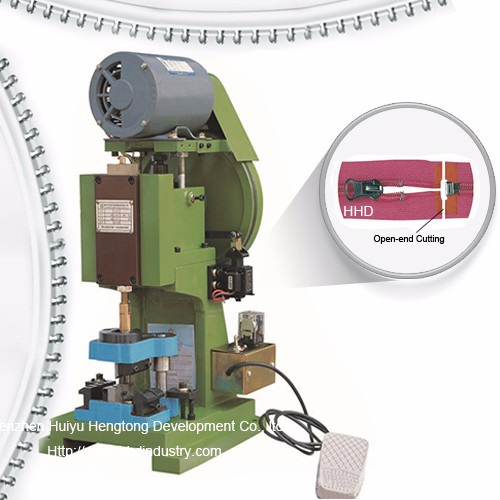 Semi Auto Nylon Zipper Open End Cutting Machine