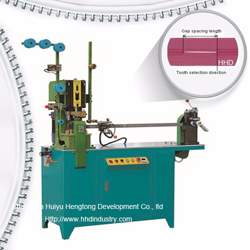Auto Nylon Zipper Tænder Gapping Machine
