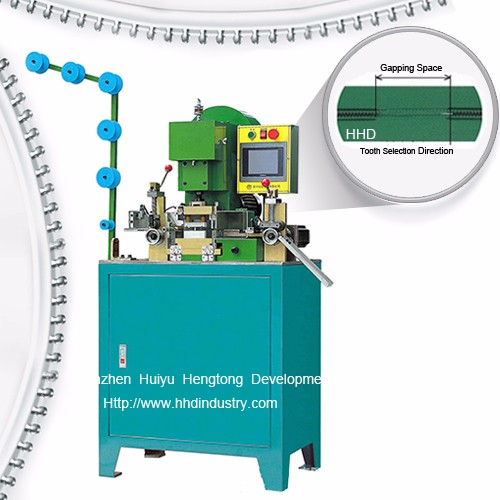 Factory selling Zipper Machine Metal -