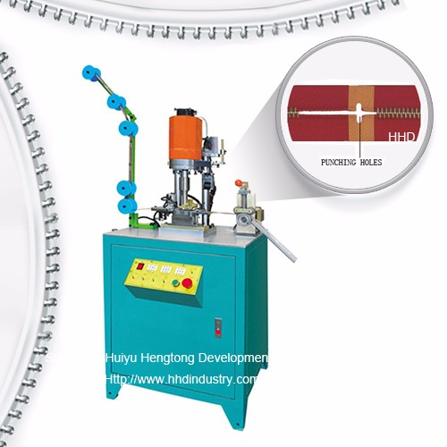 Auto Open End Metal Zipper Ulstronic Punching Machine
