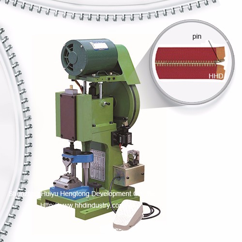 Semi Atuo Metal Zipper Pin Fixing Machine