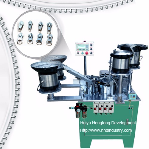 Auto-lock Zipper Slider Assembly Machine
