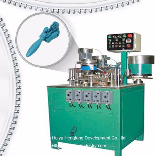 Ezingabonakaliyo uziphu Assembly Slider Machine