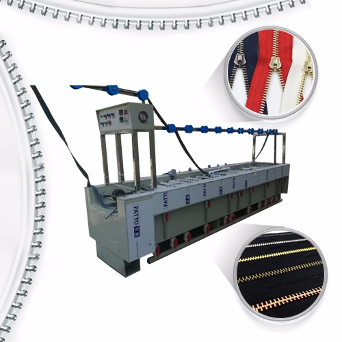 Hot sale Gold Metal Zippers -