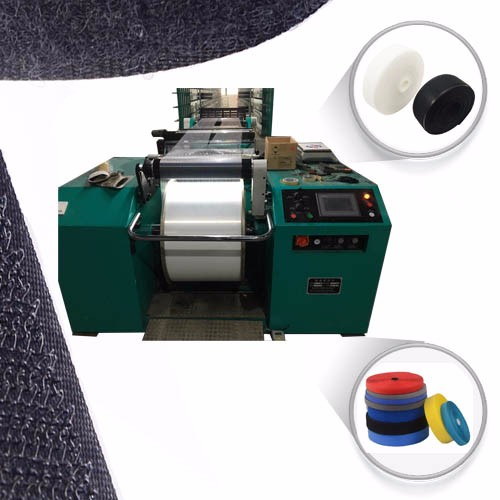 Warping machine for tape yarn