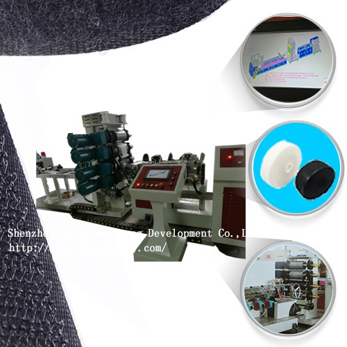 Velcro plastic hook molding machine