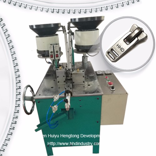 The principle of zipper machinery, operating procedures